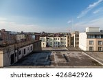 a view from a rooftop in temple ... | Shutterstock . vector #426842926