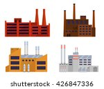 factory set isolated on white... | Shutterstock .eps vector #426847336