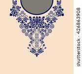 vector design for collar shirts ... | Shutterstock .eps vector #426863908