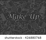 vector line art doodle set of...   Shutterstock .eps vector #426880768