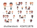 business people vector set | Shutterstock .eps vector #426911878