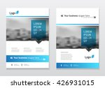 brochure cover design layout... | Shutterstock .eps vector #426931015