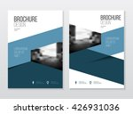 catalogue cover design. annual... | Shutterstock .eps vector #426931036