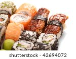 different types of sushi | Shutterstock . vector #42694072