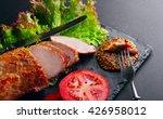 baked pork fillet  rings of...
