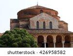 church of santa fosca on... | Shutterstock . vector #426958582