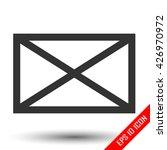 envelope icon. envelope simple...   Shutterstock .eps vector #426970972