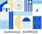 Santorini Island Flat And...
