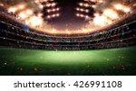 stadium light 3d | Shutterstock . vector #426991108