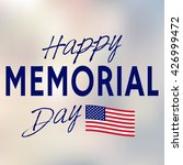 happy memorial day. memorial... | Shutterstock .eps vector #426999472