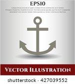 anchor icon | Shutterstock .eps vector #427039552