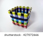 Colorful Basket White...