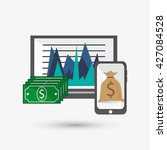 infographic design. business... | Shutterstock .eps vector #427084528