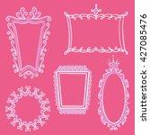 princess frames | Shutterstock .eps vector #427085476