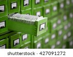 old library or archive... | Shutterstock . vector #427091272