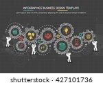 infographics business design... | Shutterstock .eps vector #427101736