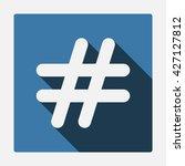 hashtags icon jpg | Shutterstock .eps vector #427127812