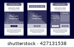 newsletter corporate vector...   Shutterstock .eps vector #427131538