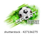 football banner ball   Shutterstock .eps vector #427136275