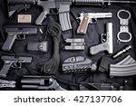 Modern Weapon  Black Background