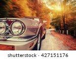 fantastic asphalt road in the...   Shutterstock . vector #427151176