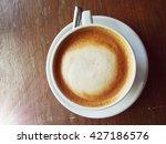 hot capuchino | Shutterstock . vector #427186576