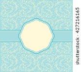 elegant invitation card | Shutterstock . vector #427216165