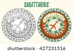 zodiac signs theme. black and...