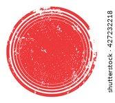 stamp   isolated on white...   Shutterstock .eps vector #427232218