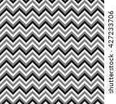 seamless zig zag geometric...   Shutterstock .eps vector #427233706