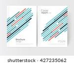 vector set abstract geometric... | Shutterstock .eps vector #427235062