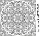 black and white ethnic... | Shutterstock .eps vector #427238008