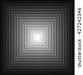 diminishing squares to the... | Shutterstock .eps vector #427242346