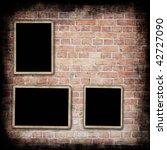 aged brick wall texture | Shutterstock . vector #42727090
