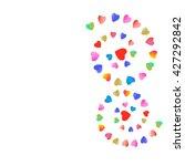 hearts | Shutterstock . vector #427292842