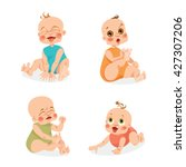 set of vector illustrations of... | Shutterstock .eps vector #427307206