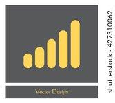 graph icon | Shutterstock .eps vector #427310062