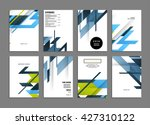 abstract background. geometric... | Shutterstock .eps vector #427310122