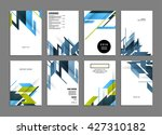 abstract background. geometric... | Shutterstock .eps vector #427310182