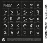 vector astrology signs of the... | Shutterstock .eps vector #427313305
