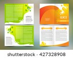 business brochure set design... | Shutterstock .eps vector #427328908