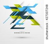 geometric vector background....   Shutterstock .eps vector #427337248