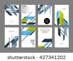 abstract background. geometric... | Shutterstock .eps vector #427341202