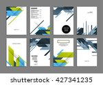 abstract background. geometric... | Shutterstock .eps vector #427341235