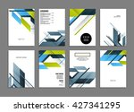 abstract background. geometric... | Shutterstock .eps vector #427341295