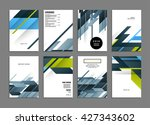 abstract background. geometric... | Shutterstock .eps vector #427343602