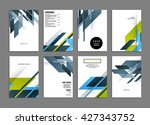 abstract background. geometric... | Shutterstock .eps vector #427343752
