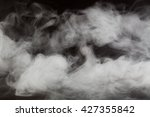 abstract fog or smoke move on... | Shutterstock . vector #427355842