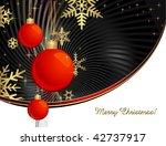 christmas background | Shutterstock .eps vector #42737917