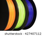 filament for 3d printing.... | Shutterstock . vector #427407112